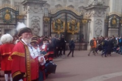 Peter Powell at Buckingham Palace