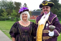 Devlin and Jenny Hobson Middlewich Town Crier and Consort