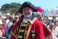 Steve O'Dare Leading the Carnival Parade in Skegness